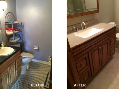 Value Bath, affordable bathroom remodeling project in Minneapolis and St paul, Roncor construction